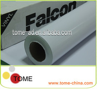 Guangzhou manufacturer 140gsm self adhesive vinyl rolls