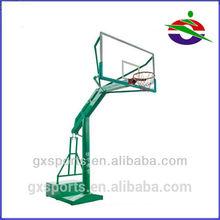 JN-0403 Transparent Movable Basketball 2 Pole