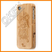 Eco-friendly Bamboo/wood mobile case with your logo