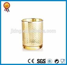 Votive Glass Gold Candle Holder