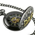 nueva elegancia para hombre reloj de bolsillo antiguo de cuarzo reloj de bolsillo de bolsillo wp125