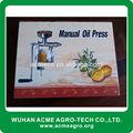 super 2014 casa de alta calidad de aceite de prensa de la máquina manual de la prensa de aceite