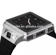 Golet cheap watch phone smartwatch,1GHz latest wrist watch mobile phone,hand watch mobile phone price off