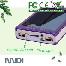 China manufacturers Solar power bank 10000 for ipad