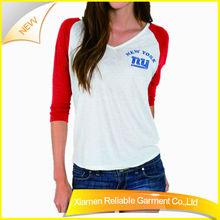 100%Cotton Fabric Wholesale Camo Women 1 Dollar T Shirt Made In China