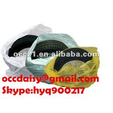 PE disposable plastic car tyre/wheel cover/bag