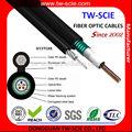 Precio cable de fibra óptica por metro 2-288 núcleo GYXTC8S cable de soporte libre de aire fabricante precio competitivo