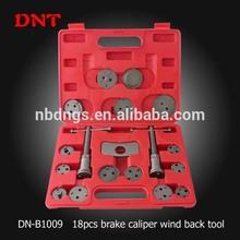 DNT automotive tool of under car tool for 18pcs positive&negative caliper wind back kit