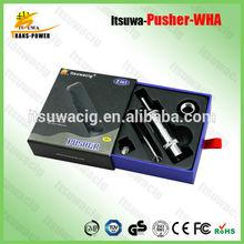 2014 new dry herb itsuwa pusher WHA 2014 revolutionary dry herb itsuwa pusher WHA wax smoking pen