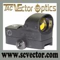 """Vector óptica high end 1x22x33 vermelho& nv visão noturna dot vistas para a caça 66mm 2.6"""" de comprimento"""