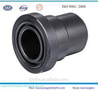 Black hydraulic welding flange adaptor