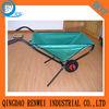 Foldable garden wheel barrow/oxford cloth wheelbarrow