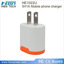 Colorful EU Plug Mini USB Power Adapter/ wall Charger for iphone 3g 3gs 4g 4gs,ipad Samsung