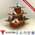 china foshan móveis de madeira da sapata display de gôndola para venda na china
