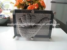 GOODLUCK 3D pin art with palstic frame/Pin pression art novelty sculpture design 3*5''