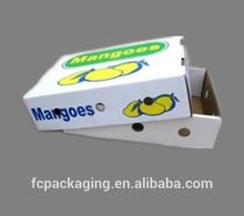 Waterproof Cardboard Box for Fresh Mango Banana Shipping Box