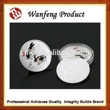 Custom Silver plating coin souvenir with animal
