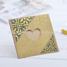 Hot sale Arabic muslim wedding invitations