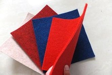 Wholesale needle punched non woven handicraft felt products