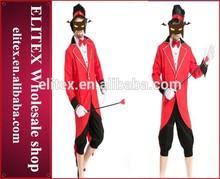 divertido 2014 circo hallowmas sexy traje de carnaval para el hombre
