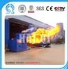 Haiqi wood sawdust biomass burner connect with boiler/asphalt heating equipment for Vietnam