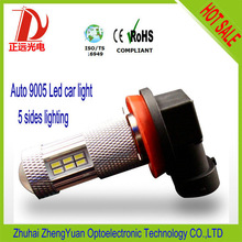 High Power 9005 9006 SMD led light bar fog led ring light