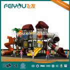 2014 Feiyou Amusement China hot sell multiple combined school/park/KFC plastic children outdoor Amusement Playground Equipment