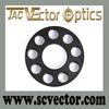 Vector Optics 0.75 Inch Tactical Gun Accessories Barrel Front End Cap With 4 screws