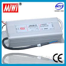 LPV-60-24 miwi 60w 24v 2.5a waterproof outdoor led power supply Aluminium case