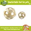 Hot sale loofah ring designer dog toys