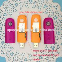 Wholesale Unlock USB modem stick HSUPA, 3G wireless dongle mobinil mf190 USB stick
