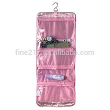 Fashion travel foldable toiletry bag/ makeup bag/travel toiletry bag