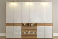 Simple fancy modern design bedroom furniture wardrobe