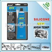 Top grade High temperature RTV silicone gasket maker blue color 85ml gp silicone sealant