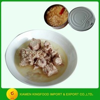 Canned Tuna in chili oil tuna in can