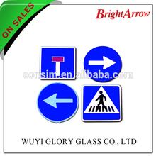 Internacional tráfego reflexivo assina para imprimir