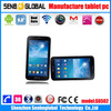 7 inch android tablet gps dual core 3G tablet with sim card android 4.2 tablet manufacturer