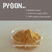 100% natural herb medicine 2.5% Cynarin