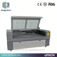High speed!!! laser cutting machine 1610 Unich fabric laser cutting machine/laser stone cutter