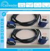 90 Degree Right Angle VGA Cable Blue Color