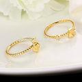 ouro anel de casamento