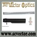 Vector óptica 6 tampón de la posición kit de tubo de tamaño comercial m4 t6 ar 15 ar-15 ar15 pistola de las existencias de piezas de los accesorios