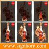 textile led light frame/2015 new slim design popular colorful dynamic beautiful textile led light frame