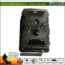 TV OUT Settings Hunting Game Cameras SMS Remote Control 12MP 720P Video