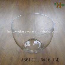 Handgefertigt klar glasschale/Container