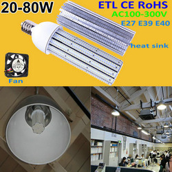 china supplier AC85-165v 30w/50w 60w E40 ushine light science and technology shanghai