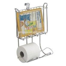 Metal wire bathroom organize ,paper napkin holder,chrome plated
