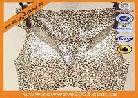 Fashion design one-piece bra panty model