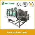 Techase: patente de prensa de tornillo/filtro prensa/de residuos industriales de tratamiento de agua