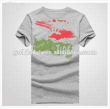 printed /water printed/rubber printed easy buy t shirt